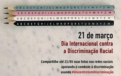 Unicentro promove campanha pelo fim da discriminação racial