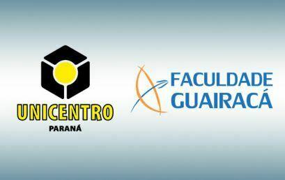 Nota oficial conjunta Unicentro e Faculdade Guairacá