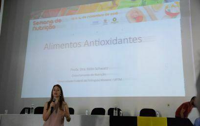 Departamento e Centro Acadêmico promovem, conjuntamente, Semana de Nutrição