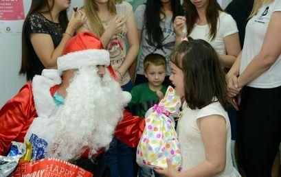 Clínica Escola de Fisioterapia encerra o ano com confraternização de Natal