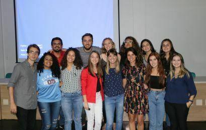 Estudantes de Jornalismo da Unicentro participam de oficina do Profissão Repórter