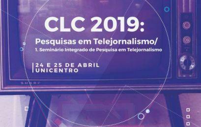 Pesquisa em Telejornalismo é tema do Conversas Latinas em Comunicação 2019