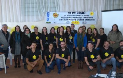Combate ao abuso sexual é trabalhado em Campina do Simão pela equipe do Neddij/Unicentro