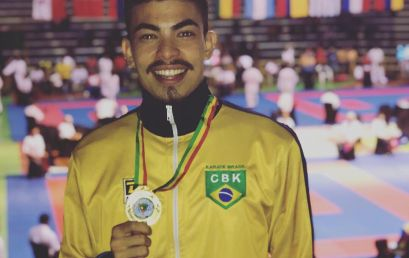 Aluno da Unicentro vai participar do Campeonato Pan-Americano de karatê