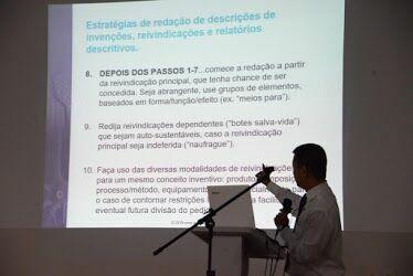 Técnicas para redação de patentes foram abordadas em workshop