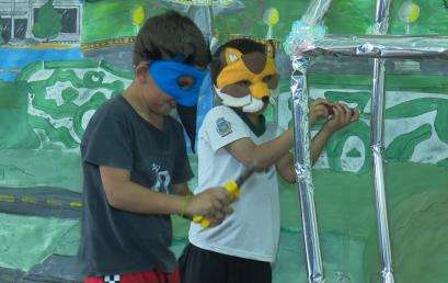 Contação de histórias é atividade voltada para crianças do Encontro de Arte Folclórica