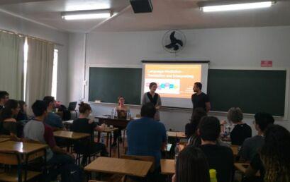 Tradução e interpretação é tema de workshop no campus Santa Cruz