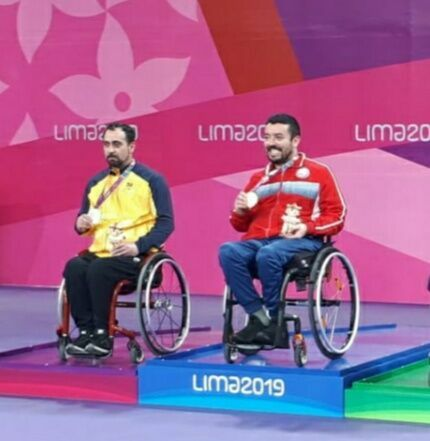 Estudante da Unicentro é medalhista paraolímpico