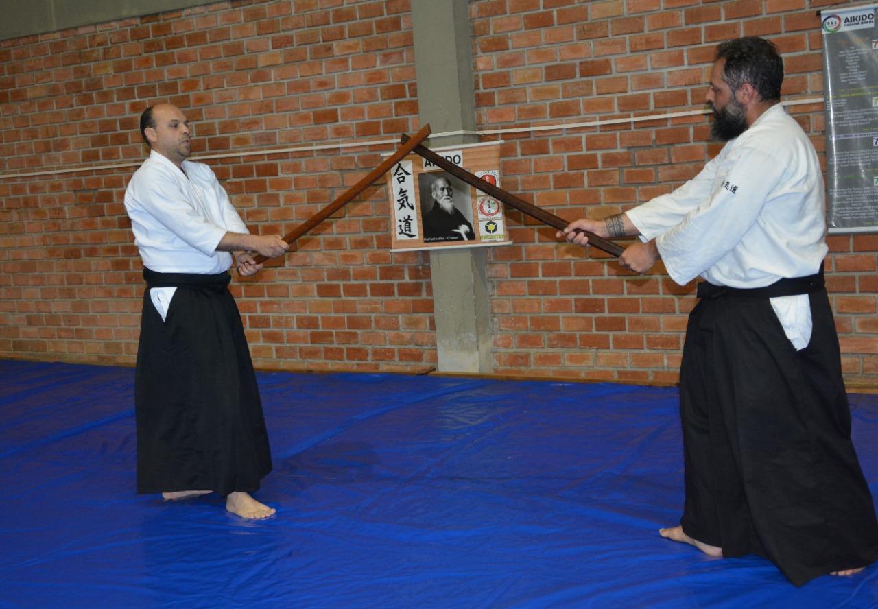 Unicentro tem aulas de aikido