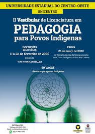 Abertas as inscrições para II Vestibular em Pedagogia para os Povos Indígenas