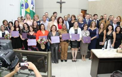 Três professoras e uma agente da Unicentro recebem Diploma Mulher Cidadã em 2020