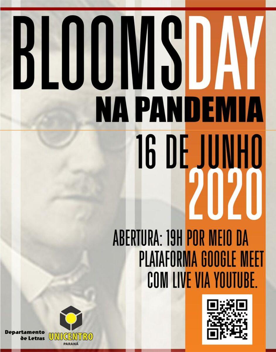 Festa da literatura, Bloomsday vai ser realizada de forma on-line pela Unicentro em 2020