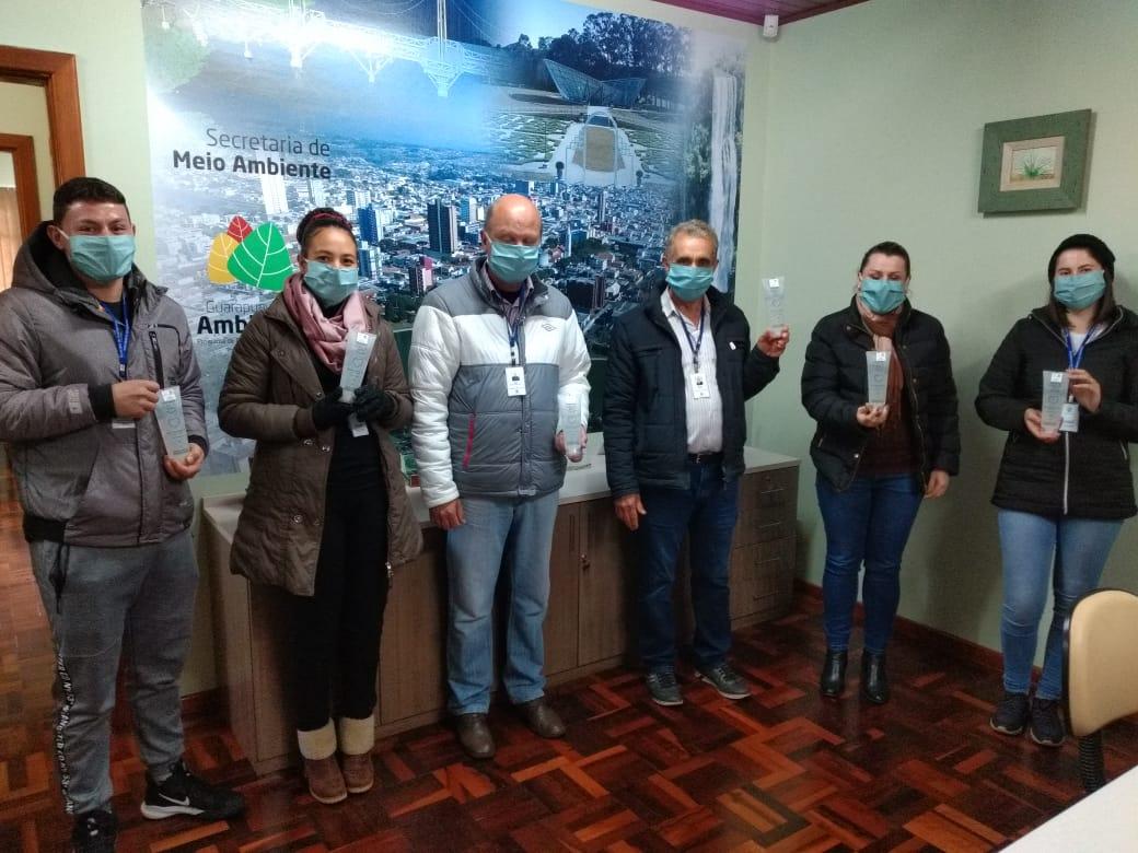 Unicentro apoia Secretaria de Meio Ambiente de Guarapuava no combate à covid-19