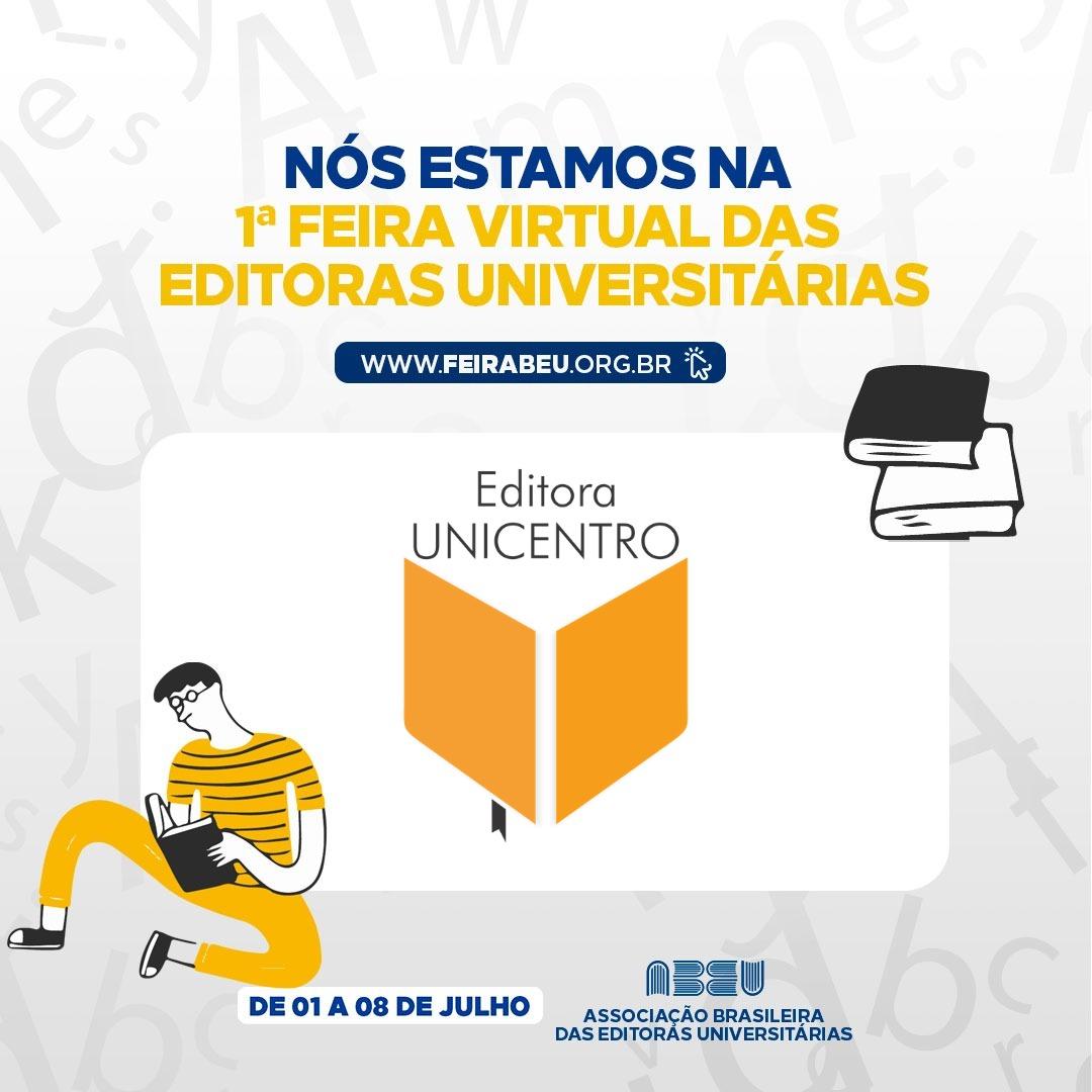 Editora Unicentro tem estande na 1. Feira Virtual da Abeu