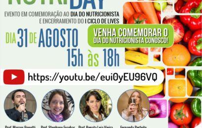 Dia do Nutricionista será comemorado com live