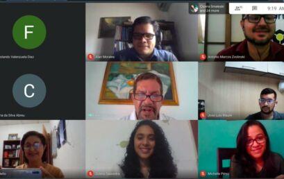 Estudantes do Panamá participam do Encontro de Iniciação Científica da Unicentro