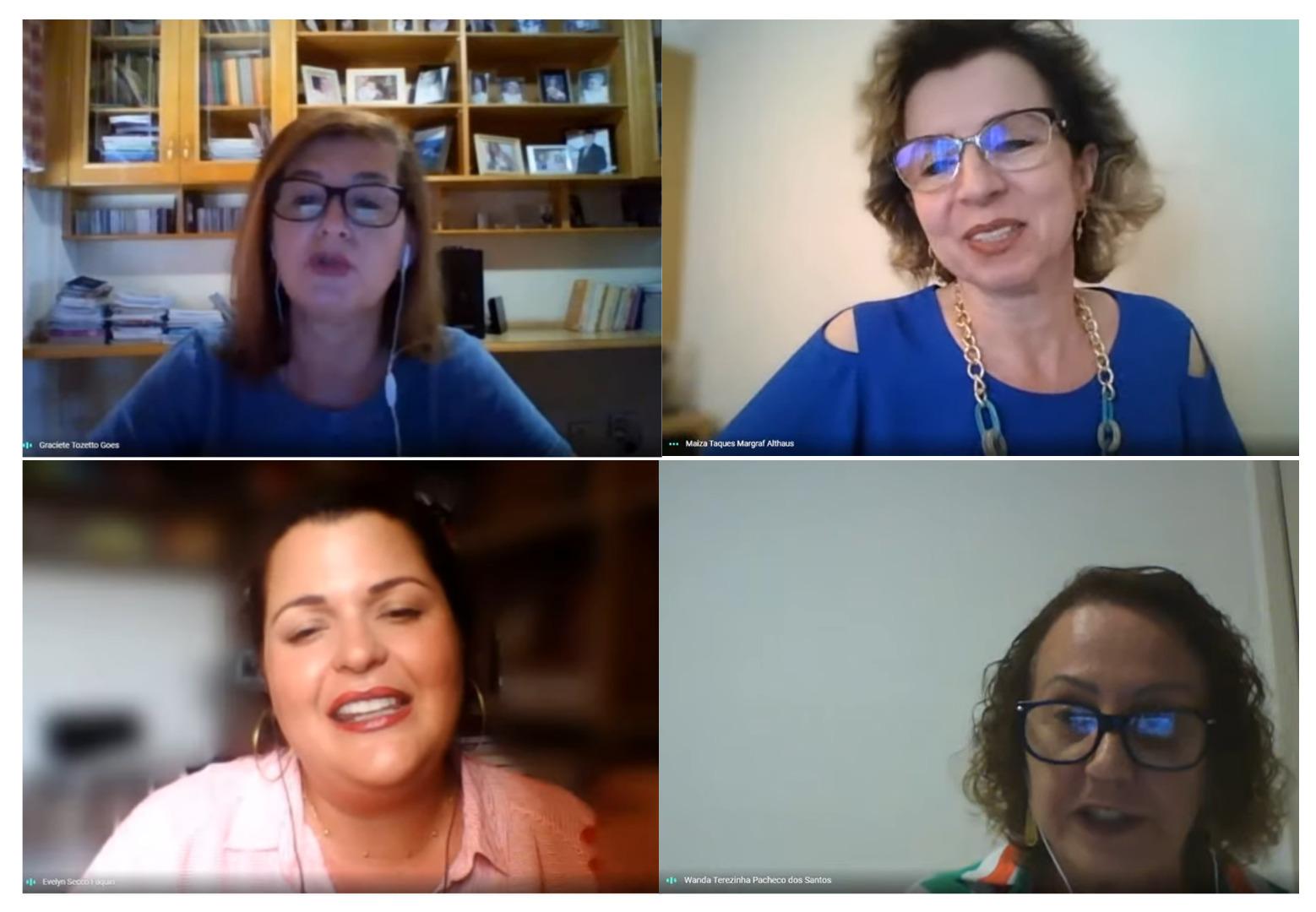 Professora da Unicentro participa de live sobre docência na educação superior