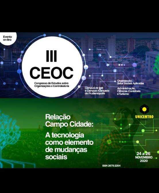 Congresso de Estudos sobre Organizações e Controladoria tem início nessa terça-feira, 24