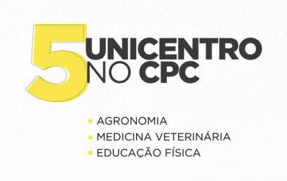 Cursos da Unicentro são destaque em avaliação do Ministério da Educação