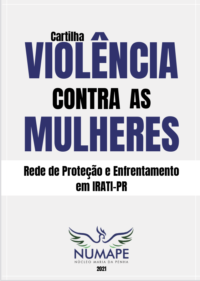 Numape Irati organiza cartilha para orientar mulheres vítimas de violência