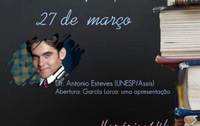 Sábados Literários 2021 debaterão a Literatura de Língua Espanhola