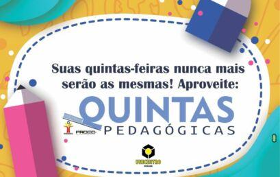 Quintas Pedagógicas promovem a formação continuada de professores de Sociais Aplicadas