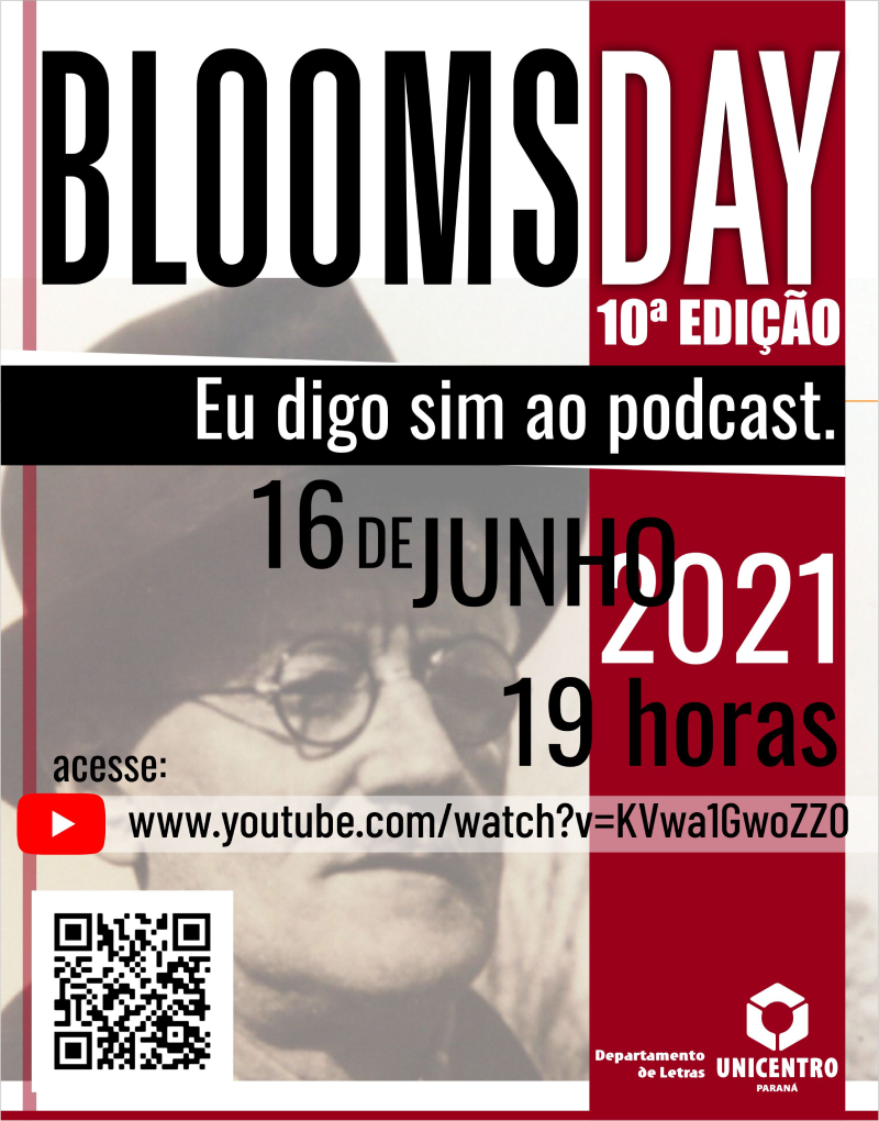 Unicentro tem programação para o Bloomsday nessa quarta-feira, 16