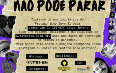 Estágio em Psicologia trabalha na prevenção do HIV e das Infecções Sexualmente Transmissíveis