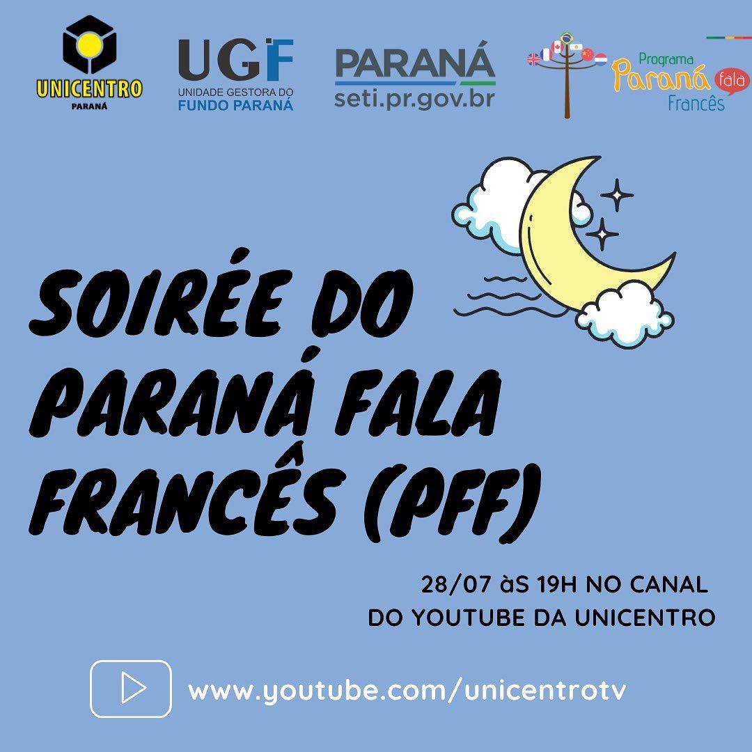 Soirée do Paraná Fala Francês é noite de festa do idioma
