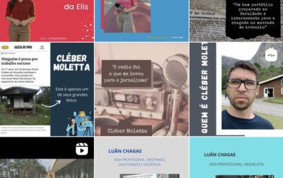 Estudantes de Jornalismo da Unicentro são ganhadores do Expocom Sul 2021