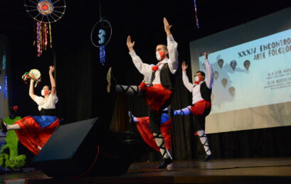 Artistas voltam aos palcos do Auditório Francisco Contini para o Encontro de Arte Folclórica