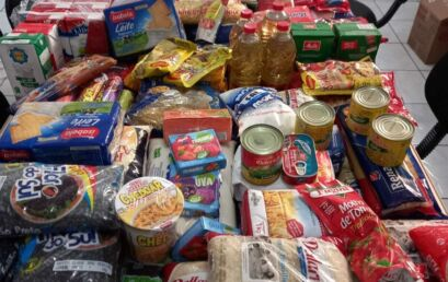 Unicentro arrecada mais de 6.500 quilos de alimentos e de 9.700 peças de roupas