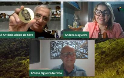 Professor da Unicentro é homenageado pela Associação Brasileira de Mensuração Florestal