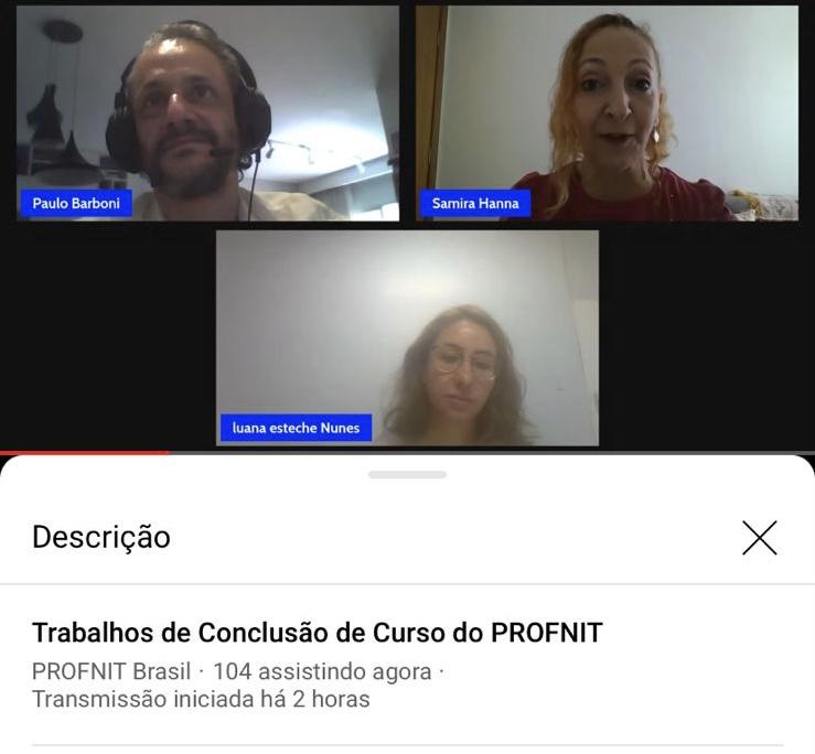 Dissertação defendida na Unicentro recebe prêmio no V Congresso Internacional do Profnit