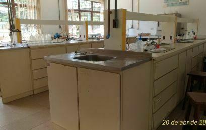 Reforma nos Laboratórios de Química – CEDETEG