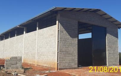 Barracão da Fazenda Escola – CEDETEG