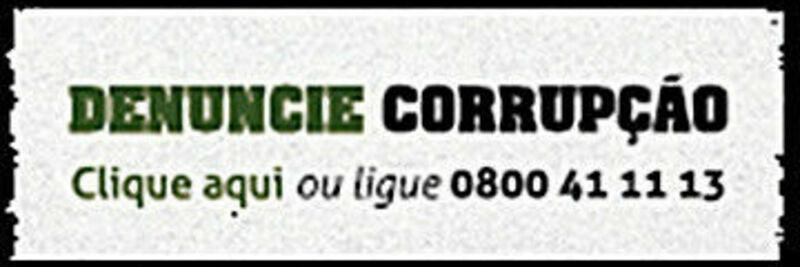 Denuncie Corrupção