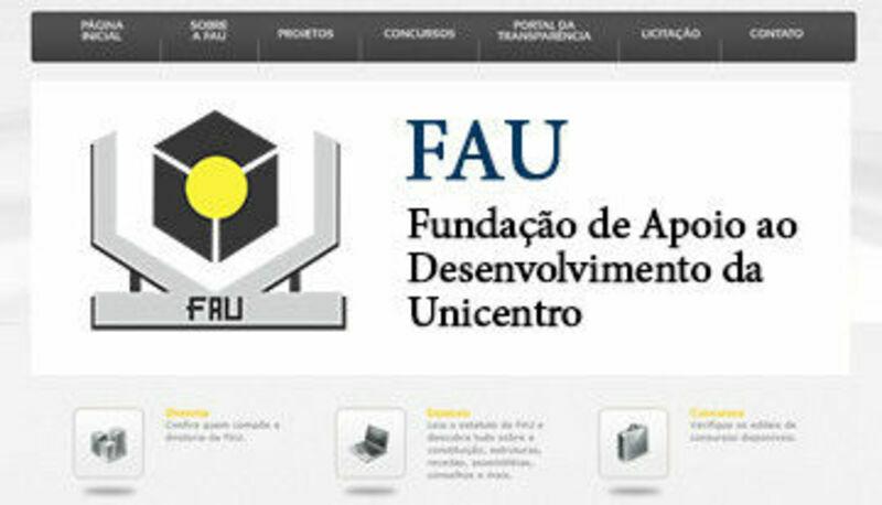 FAU Fundação de Apoio ao Desenvolvimento da Unicentro