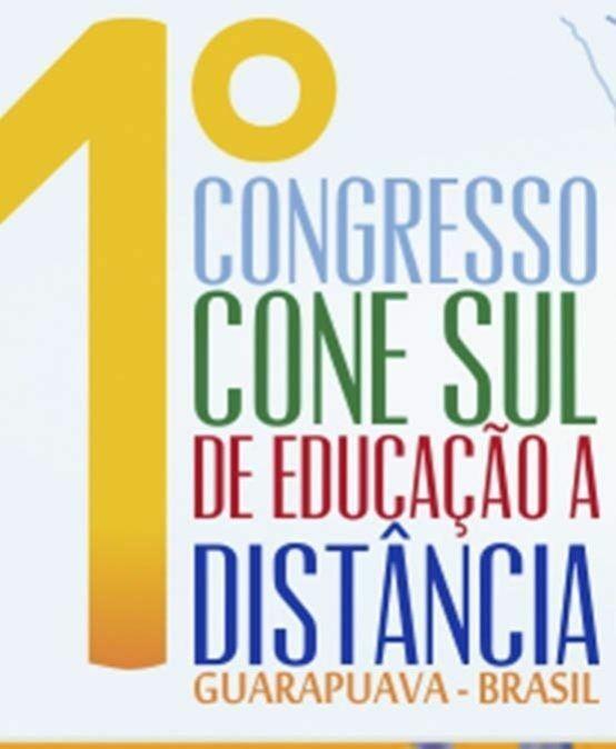 1º Congresso Cone Sul de Educação a Distância