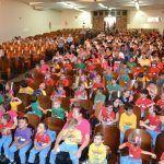 Crianças das escolas municipais de Guarapuava participam do Encontro da Arte Folclórica
