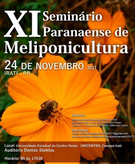 XI Seminário Paranaense de Meliponicultura