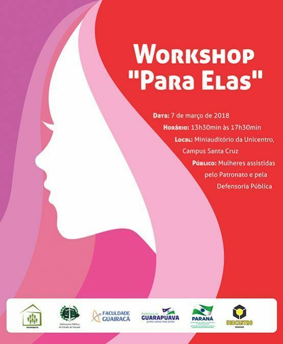 "Workshop ""para elas"""