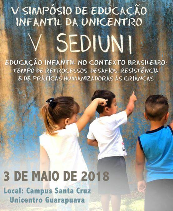 V Simpósio de Educação Infantil da Unicentro – Sediuni