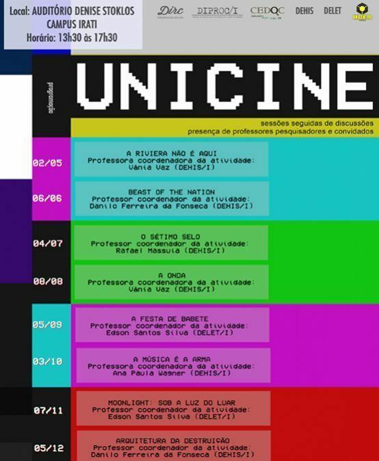 Unicine – Sessões e discussão
