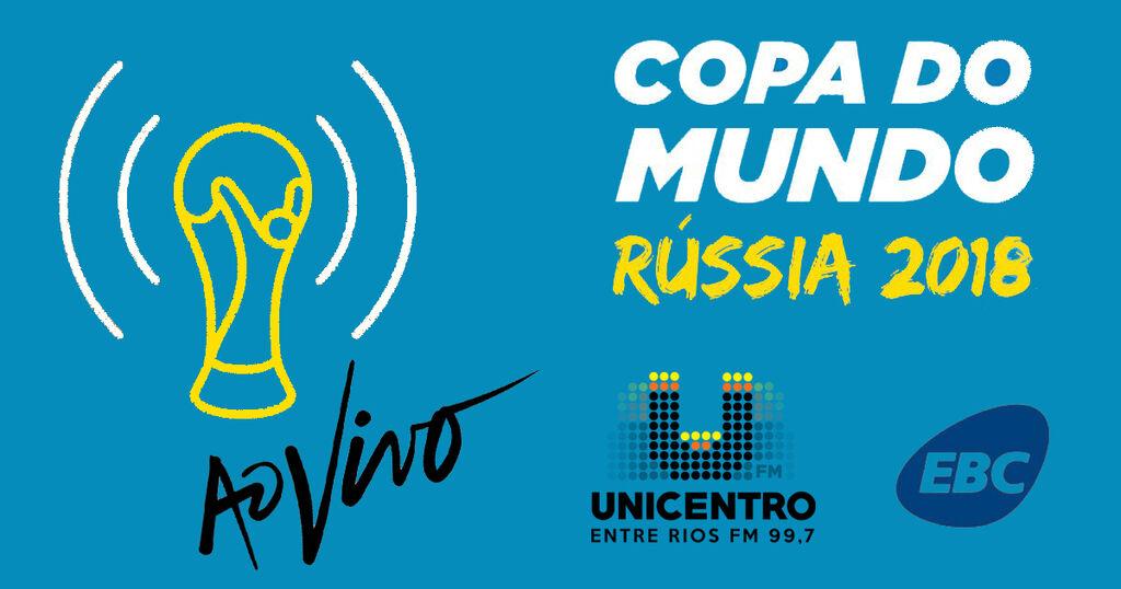 Unicentro FM transmite jogos do Brasil na Copa