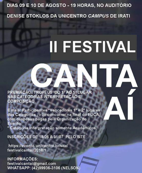 Festival Canta Aí