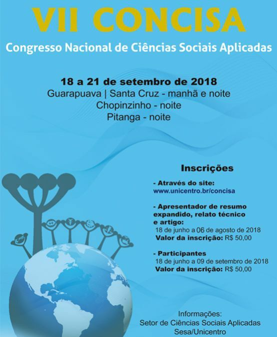 VII Concisa – Congresso Nacional de Ciências Sociais Aplicadas