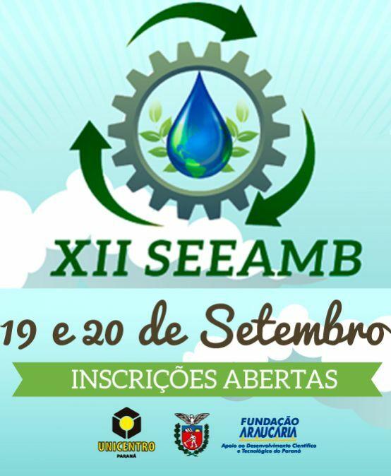 XII Semana de Estudos de Engenharia Ambiental – SEEAMB