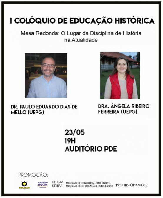 I Colóquio de Educação Histórica
