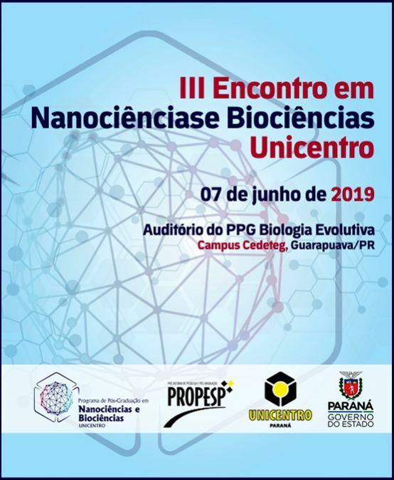 III Encontro em Nanociências e Biociências Unicentro